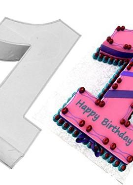 EURO-TINS-Teglia-piccola-numero-UNO-per-dolce-di-compleanno-o-ricorrenza-misura-25cm-x-18cm-profondit-6cm-0