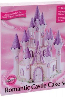 Set-castello-romantico-Wilton-torta-tridimensionale-0