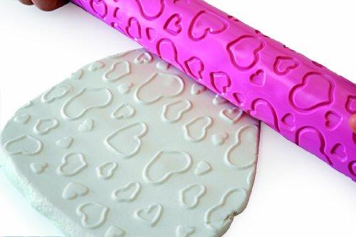 Silikomart wonder cake mattarello con stampo decoro cuori 42 5 x 400 mm cake design - Home design decoro shopping ...
