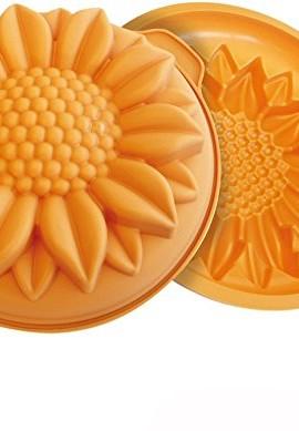 Silkomart-SK2036-Stampo-Girasole-in-Silicone-26-cm-0