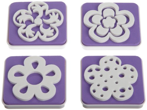 Wilton set 4 timbri fiori per decoro torte cake design - Home design decoro shopping ...