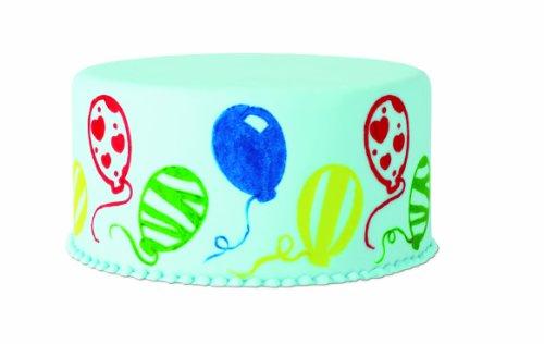 Wilton set 4 timbri palloncini per decoro torte cake design - Home design decoro shopping ...