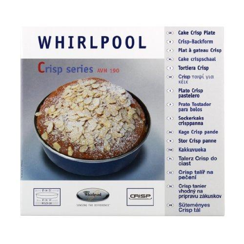 Whirlpool avm190 piatto crisp a bordo alto tortiera per - Forno a microonde funzione crisp ...