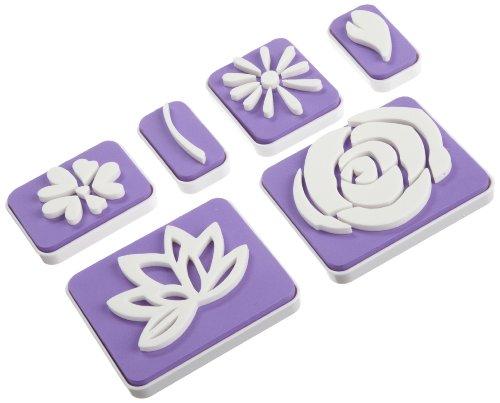 Wilton set 6 timbri fiori e foglie per decoro torte cake - Home design decoro shopping ...